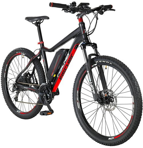 FISCHER FAHRRAEDER E-Bike Mountainbike »EM1608«, 27,5 Zoll, 24 Gang, Heckmotor, 422,4 Wh