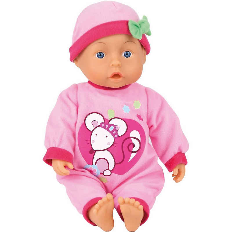 Bayer Babypuppe »First Words Baby rosa 28 cm«