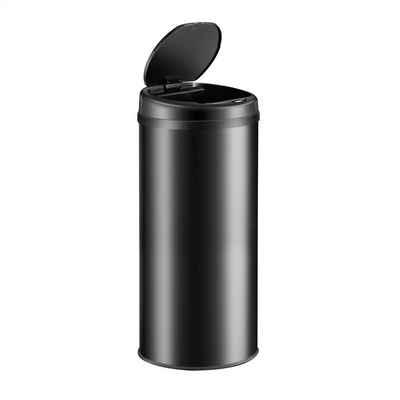 Deuba Mülleimer, 30L Automatischer Mülleimer LED Anzeige Müllbehälter berührungslos Bewegungssensor wasserdicht