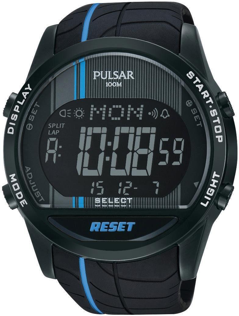 Pulsar Chronograph »PV4007X1« mit Alarmfunktion
