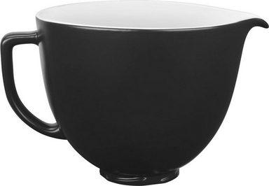 KitchenAid Küchenmaschinenschüssel »5KSM2CB5BM, 4,7-L-Keramikschüssel«, Keramik, für KitchenAid-Küchenmaschinen mit kippbarem Motorkopf