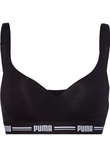 PUMA Bralette-BH »Iconic« mit leicht gepaddeten Cups
