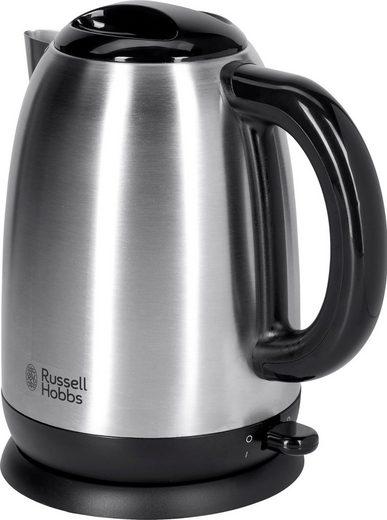 RUSSELL HOBBS Wasserkocher Adventure 23912-70, 1,7 l, 2400 W, Edelstahl gebürstet