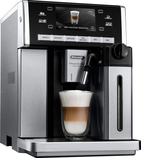De'Longhi Kaffeevollautomat PRIMADONNA EXCLUSIVE ESAM 6850.M
