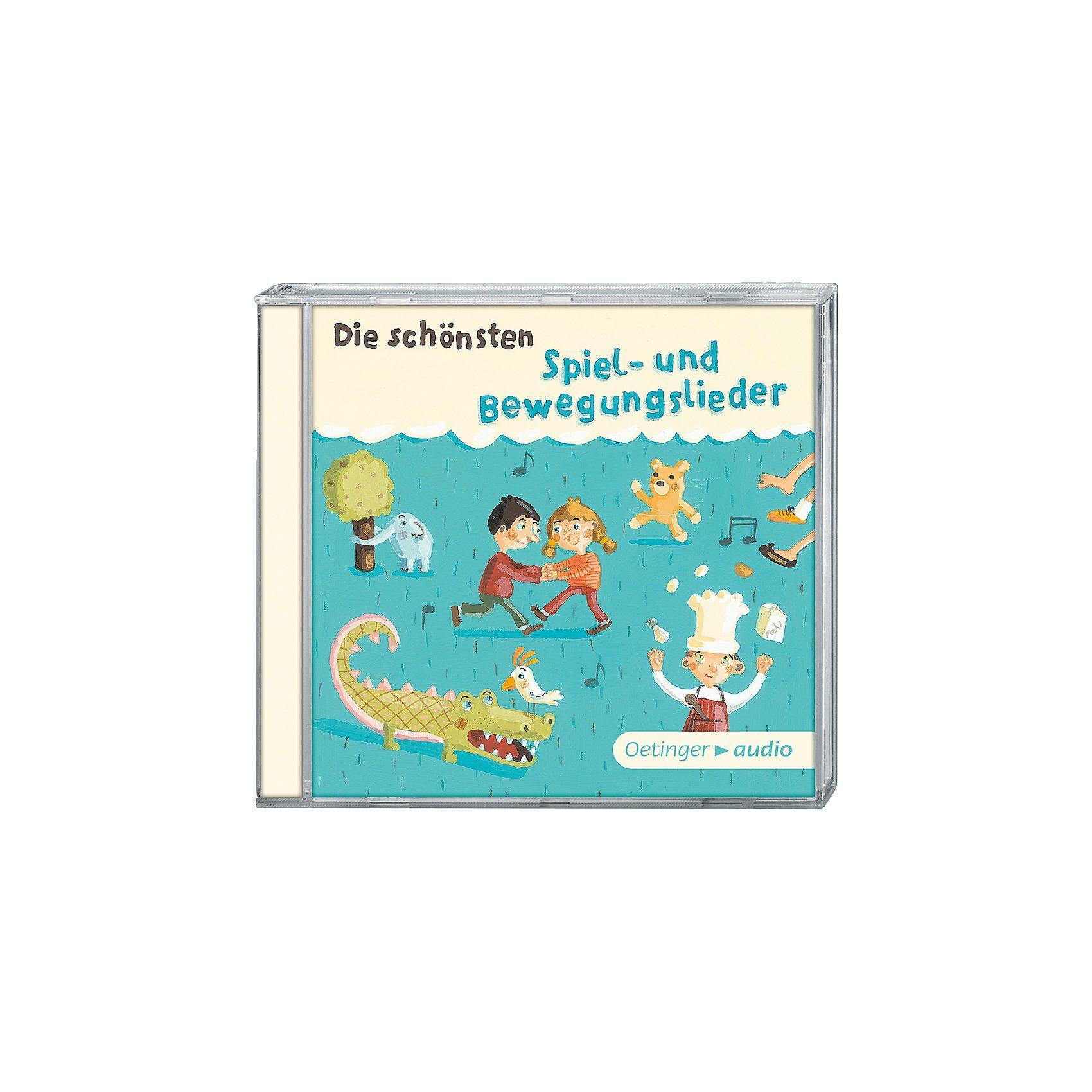 CD Die schönsten Spiel-und Bewegungslieder