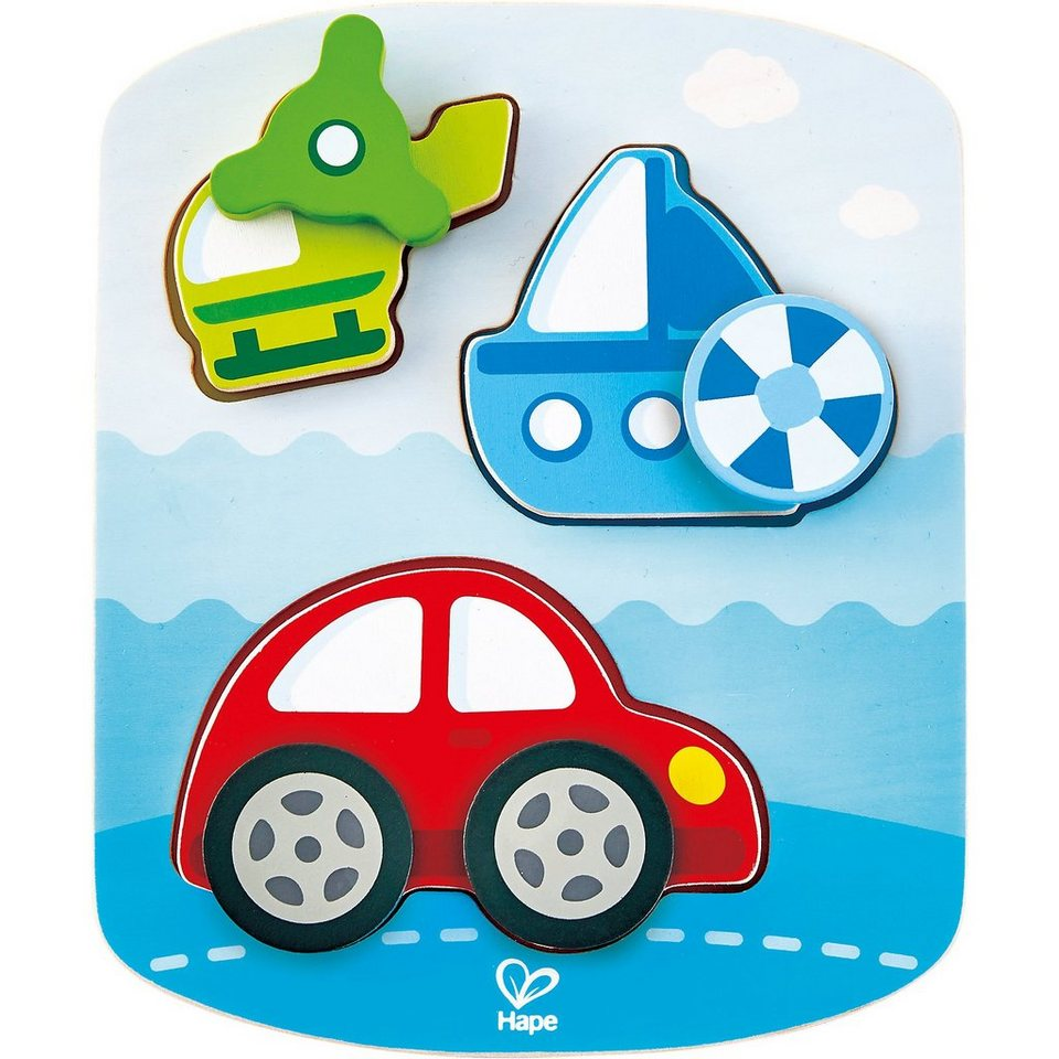 Hape Dynamisches Fahrzeugpuzzle online kaufen