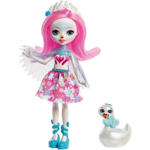 Mattel® Enchantimals Schwanenmädchen Saffi Puppe