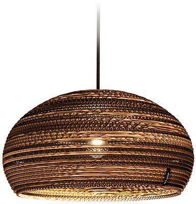 think paper Hängeleuchte »Dandy 290«, schicke Deckenleuchte, Beleuchtung mit Stil, handarbeit, umweltfreundliches Unikat, Deckenlampe