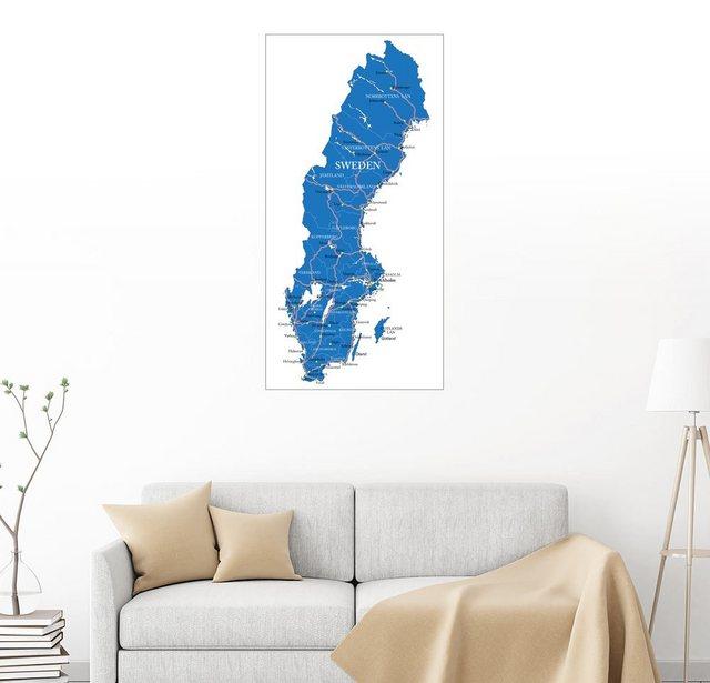 Posterlounge Wandbild »Schweden« | Dekoration > Bilder und Rahmen > Bilder | Posterlounge