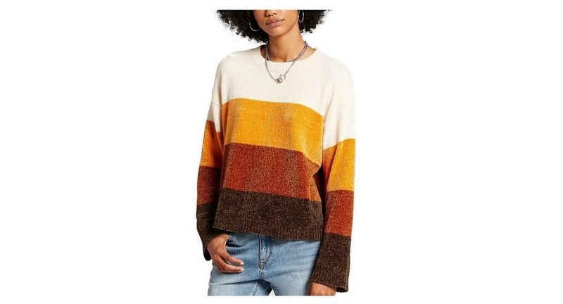 Volcom Wollpullover »Volcom Damen Pullover Bubble Tea Sweater braun«