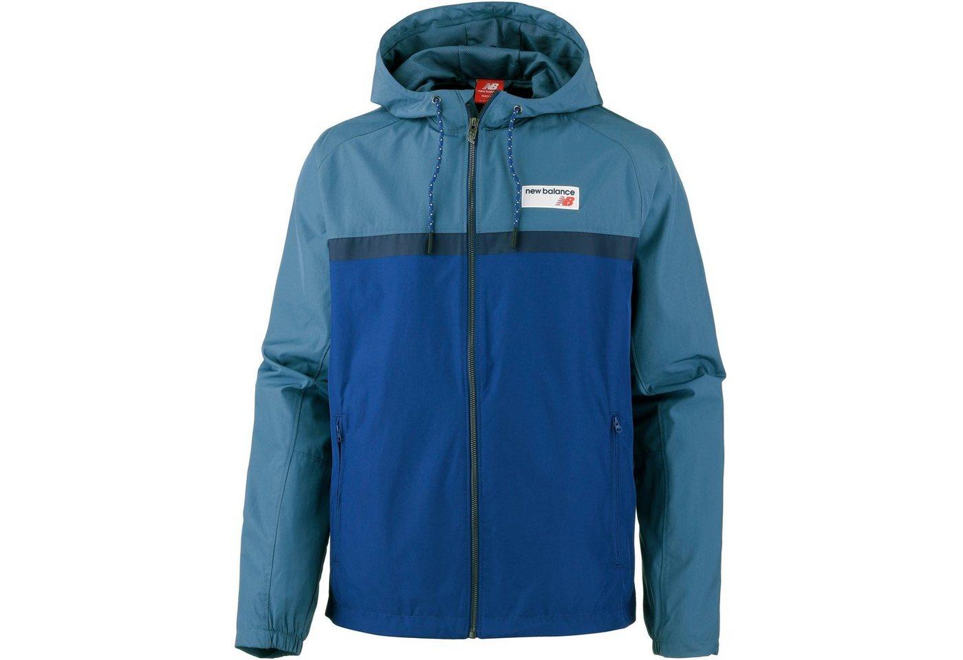New Balance Windbreaker   Sportbekleidung > Sportjacken > Windbreaker   Blau   Polyester   New Balance