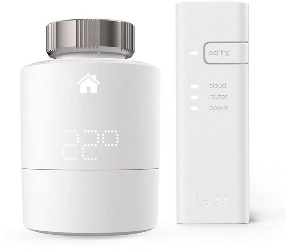 tado smart home zubeh r heizungsthermostat starter kit v3 inkl bridge online kaufen otto. Black Bedroom Furniture Sets. Home Design Ideas