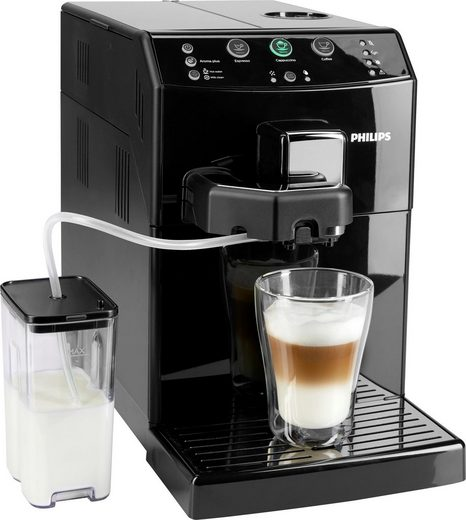 Philips Kaffeevollautomat 3000 Serie HD8830/10, EasyCappuccino, klavierlack-schwarz
