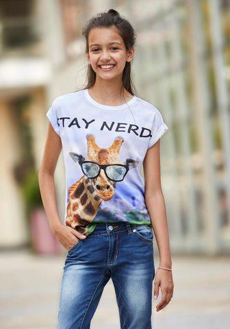 BUFFALO Marškinėliai »GIRAFFE«