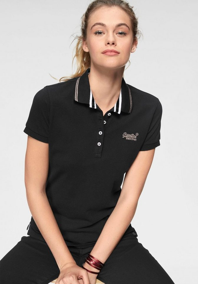 Superdry Poloshirt »CLASSIC POLO TOP« mit kontrastfarbenen Details ... 6827bd3f8a