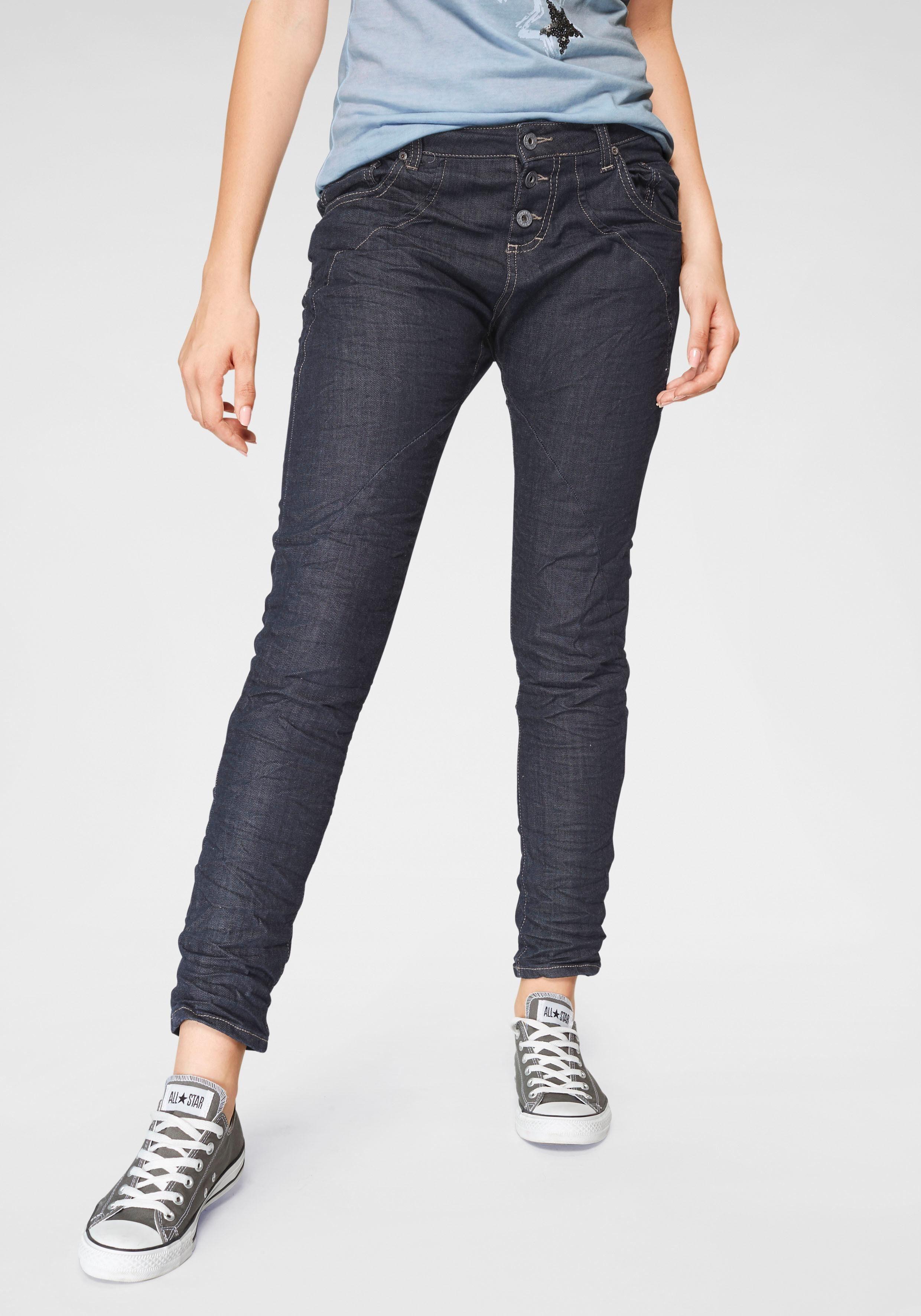Please Jeans Boyfriend Jeans »P6AG« mit abgerundeten Ziernähten online kaufen | OTTO