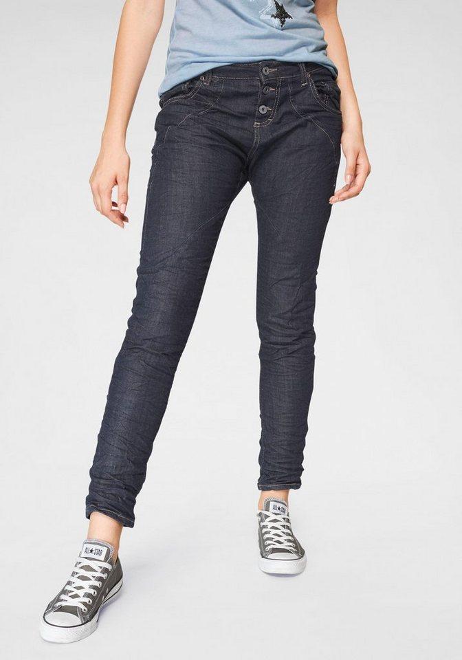 Please Jeans Boyfriend-Jeans »P6AG« mit abgerundeten Ziernähten ... a431ae09be