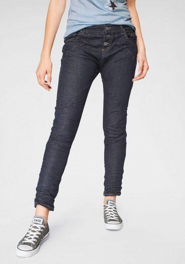 Please Jeans Boyfriend-Jeans »P6AG« mit abgerundeten Ziernähten