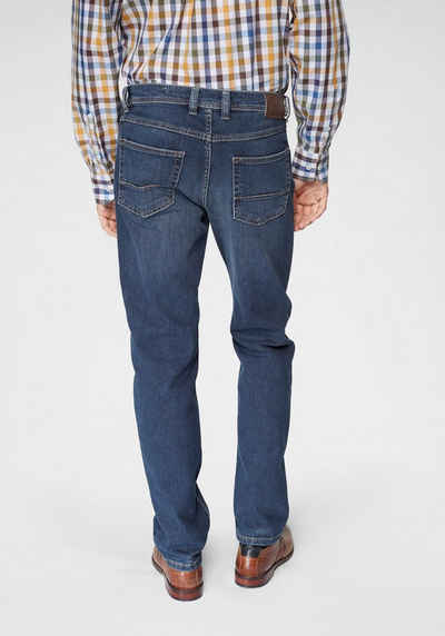 bugatti Regular-fit-Jeans Regular-fit, 2farbige Kontrastnähte