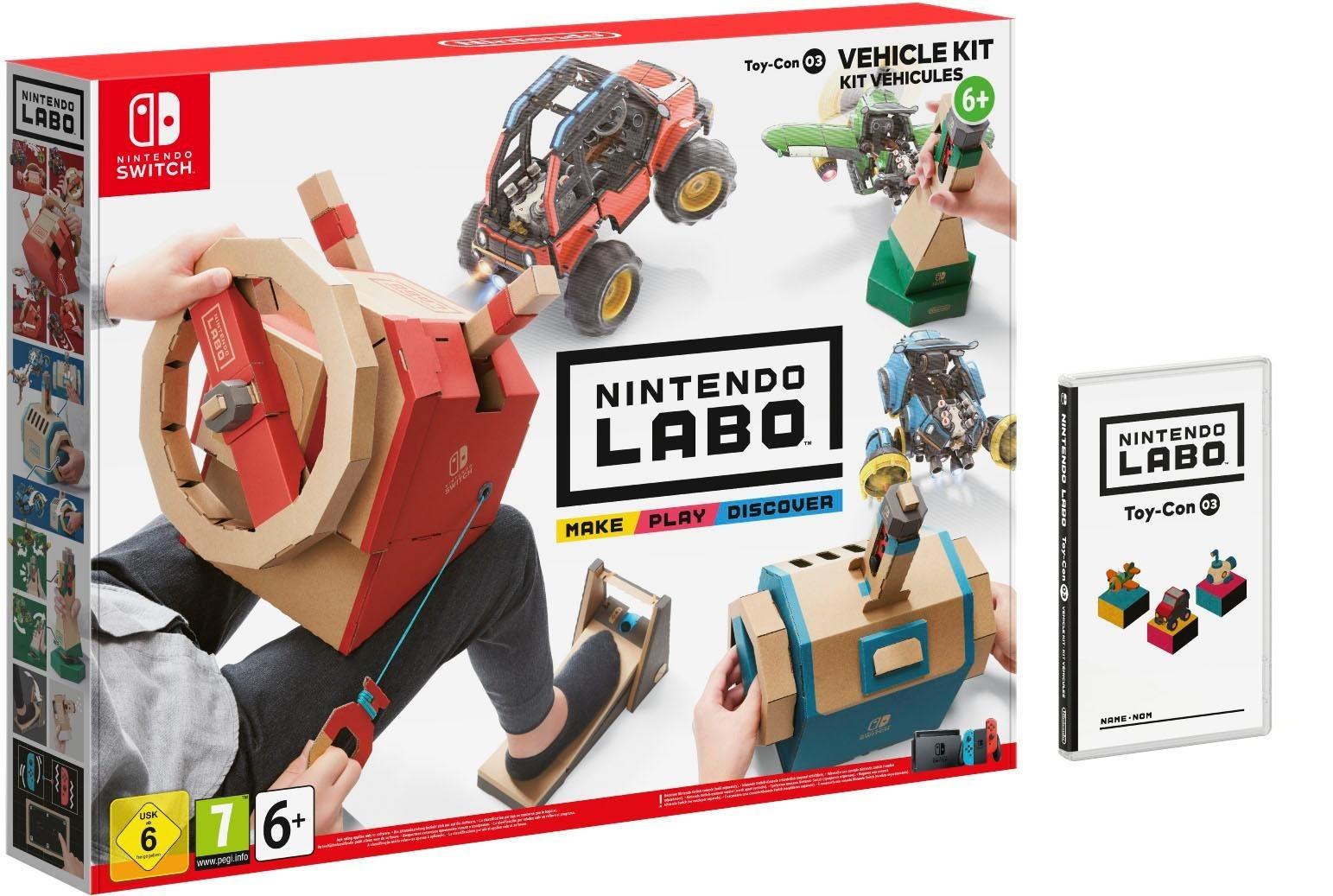 Labo: Toy-Con 03: Fahrzeug-Set