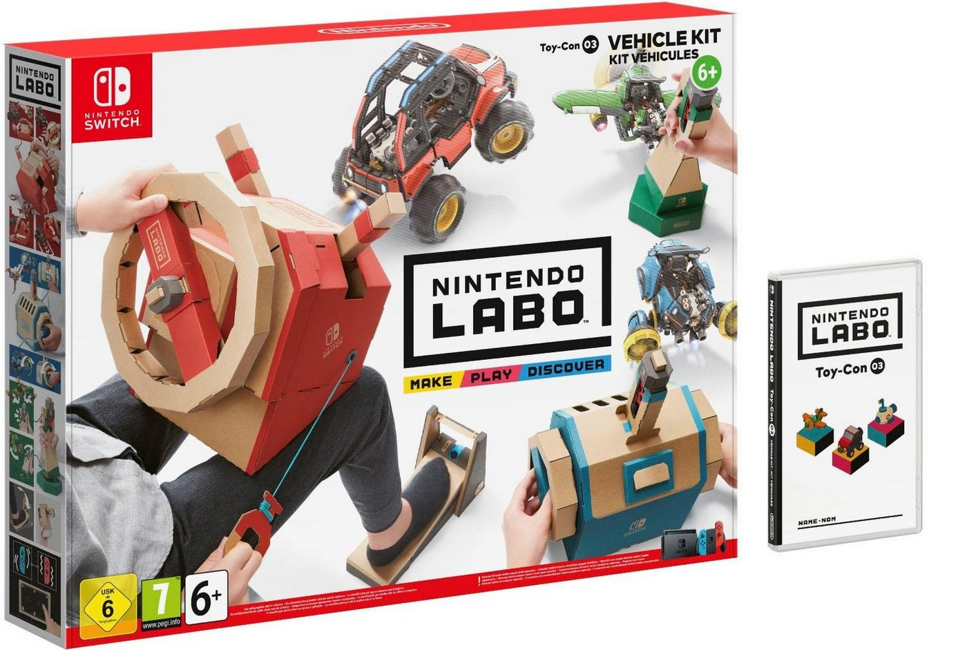 Image of Labo: Toy-Con 03: Fahrzeug-Set Nintendo Switch