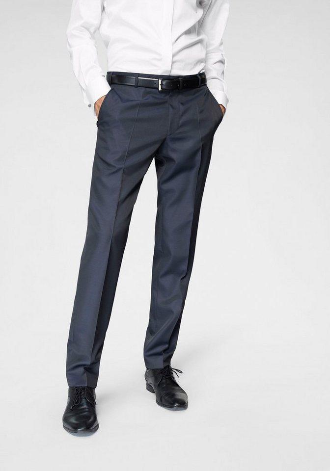 Wilvorst Anzughose Hochzeitsmode Mix & Match, ohne Kontrastbesätze | Bekleidung > Hosen > Anzughosen | Blau | Wilvorst