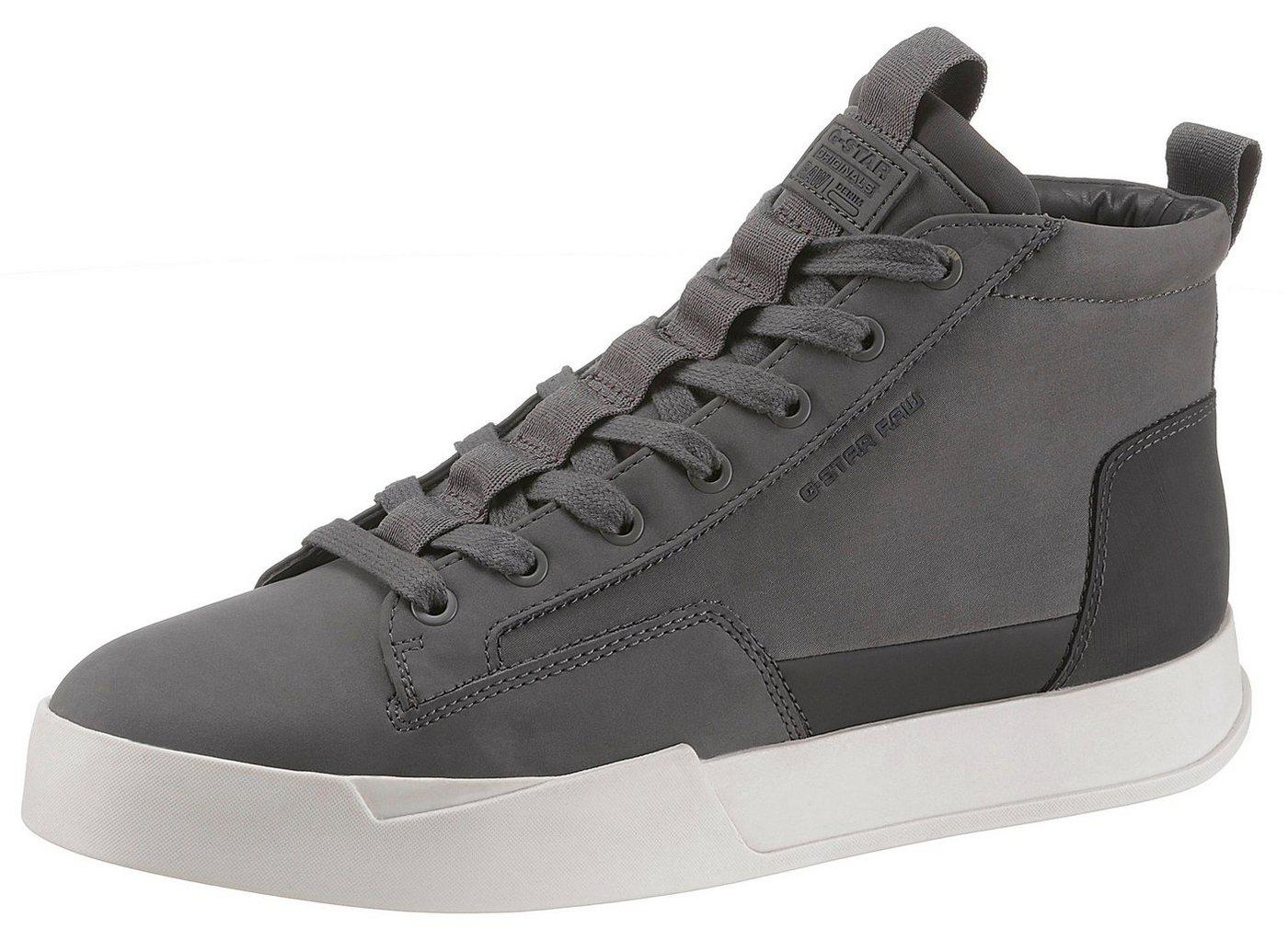Herren G-Star RAW Rackam Core Mid Sneaker grau | 08719369894374