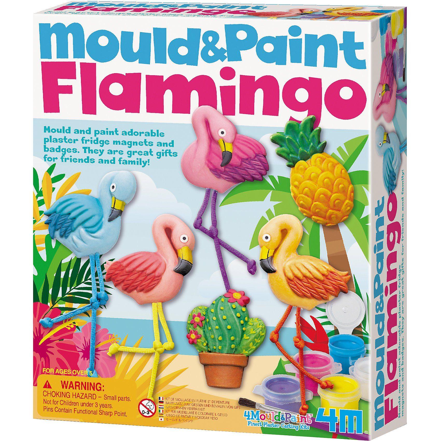 4M Mould & Paint - Flamingos