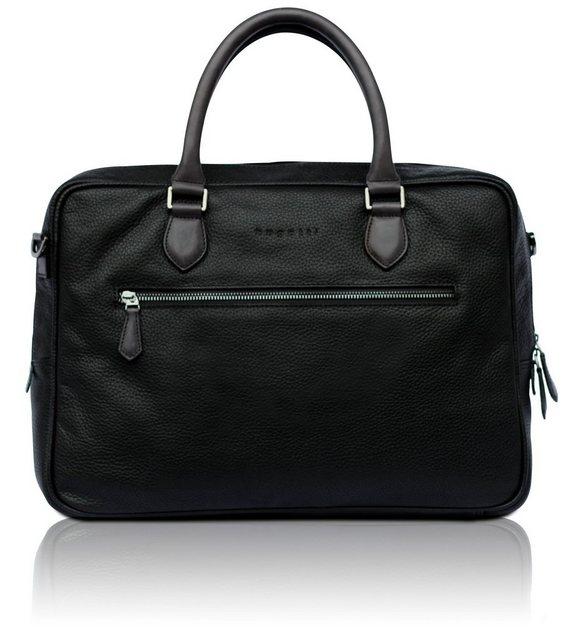 bugatti Businesstasche mit Doppelgriff | Taschen > Business Taschen | Schwarz | Bugatti