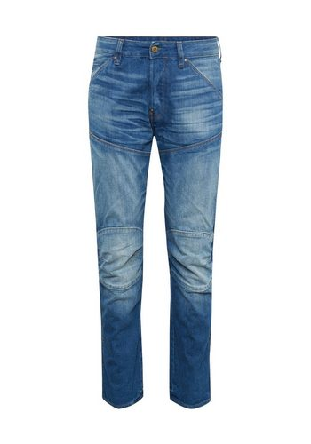 Herren G-Star RAW Slim-fit-Jeans 5620 (ELWOOD) 3D STRAIGHT blau | 08719369697593