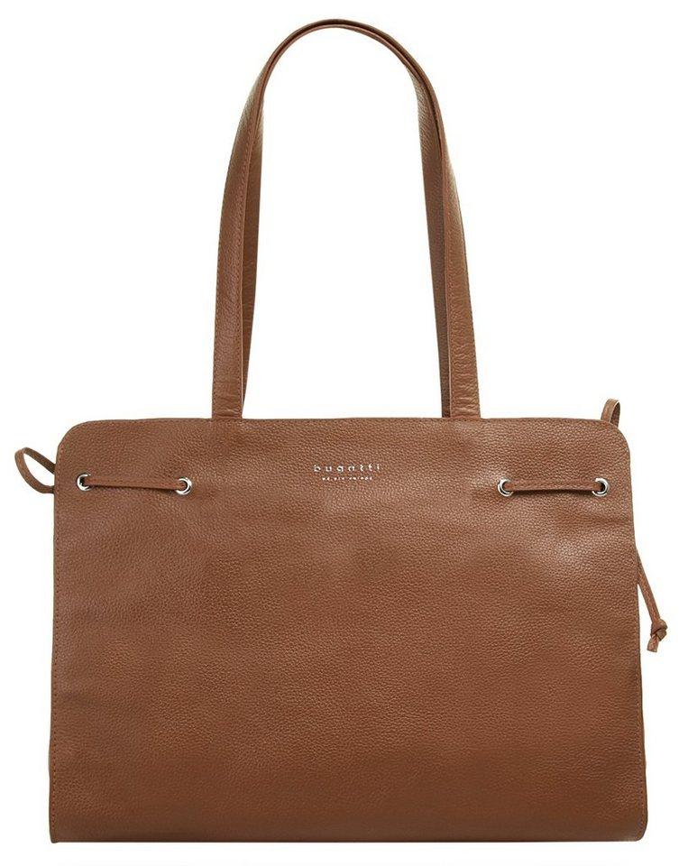 Damen bugatti  Shopper LINDA  elastisch braun | 04250060353691