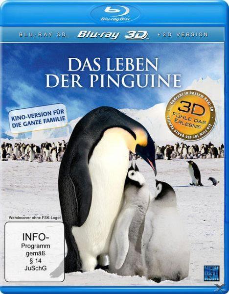 Blu-ray »Das Leben der Pinguine«