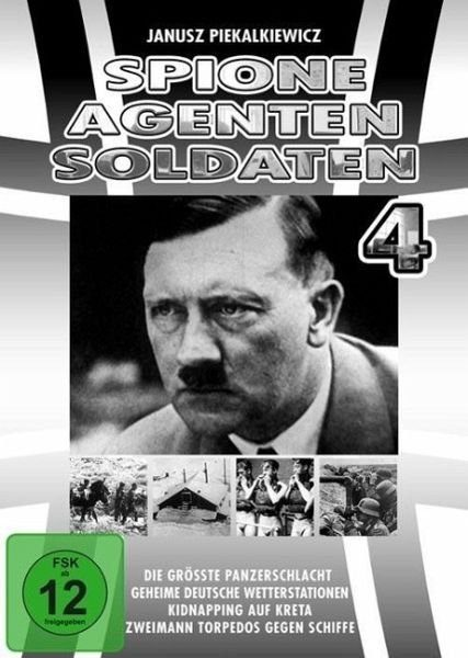 DVD »Spione, Agenten, Soldaten - Box 4«