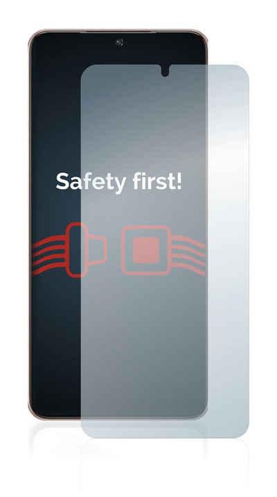 Savvies Schutzfolie »Panzerglas für Samsung Galaxy S21 Plus 5G«, Schutzglas Echtglas 9H klar