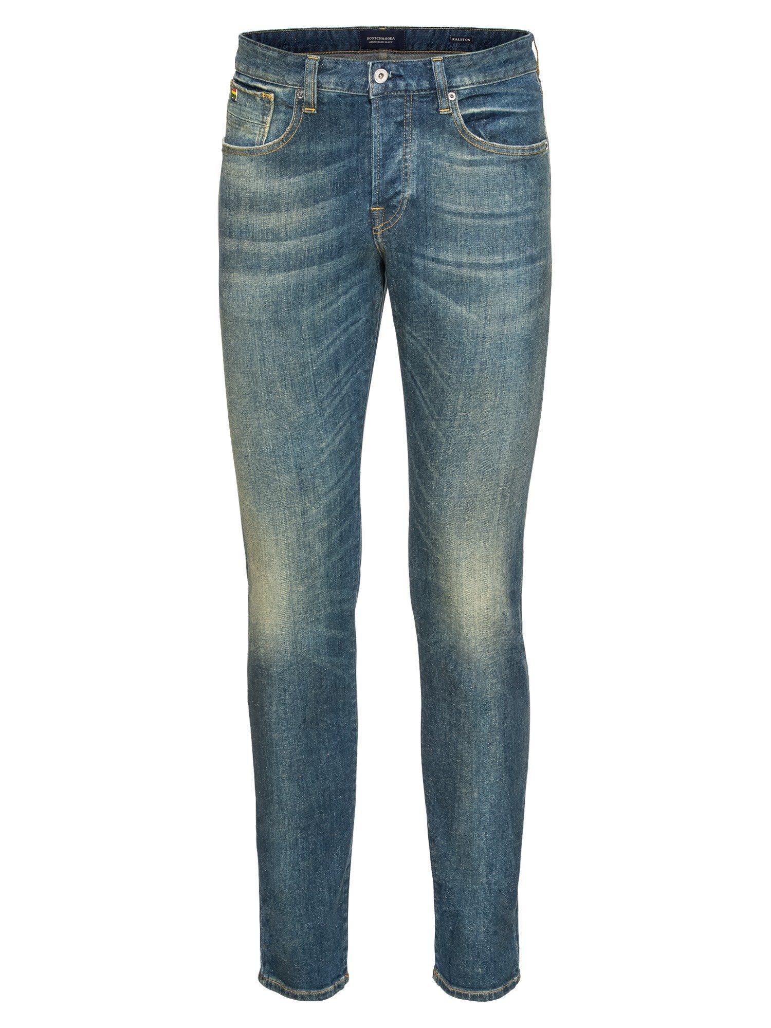 Scotch & Soda Slim-fit-Jeans »Ralston - Diego Blauw« | Bekleidung > Jeans > Sonstige Jeans | Blau | Scotch & Soda