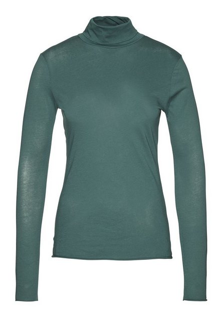 Damen,Herren Armedangels Langarmshirt Malena Zertifizierung: Fairtrade GOTS organic CERES-008 grün | 04251384544345