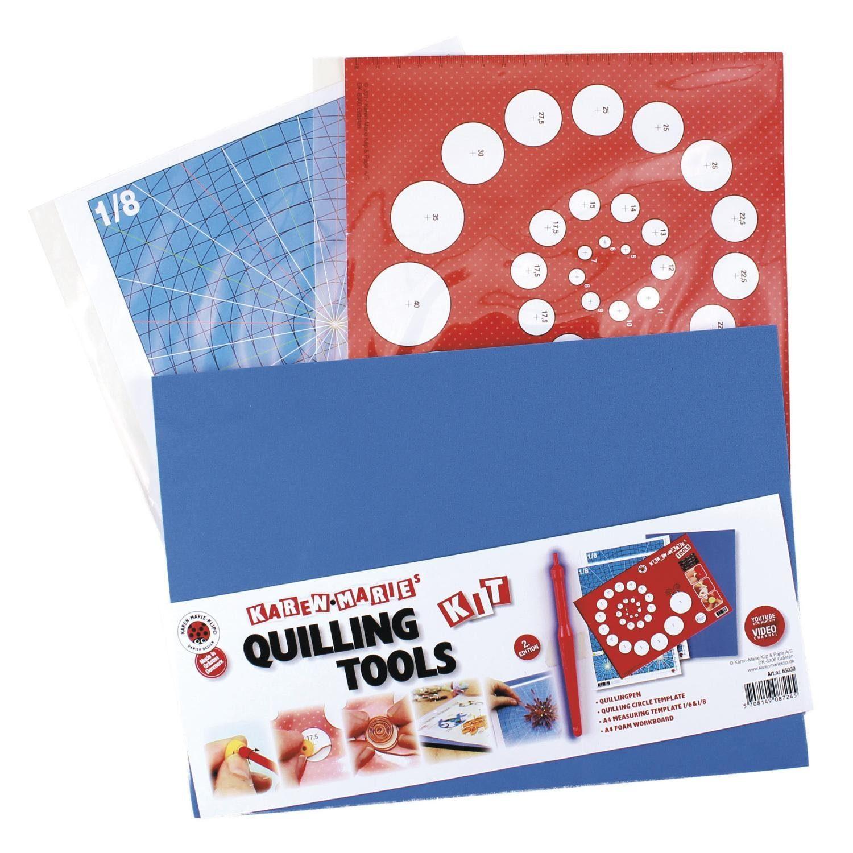 "Karen Marie Klip Quilling Werkzeug ""Quilling Tools Kit"" 5 Teile"