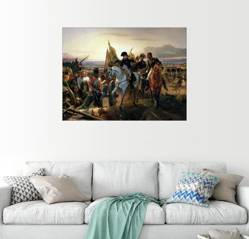 Wandbild - Emile Jean Horace Vernet »Schlacht von Friedland«