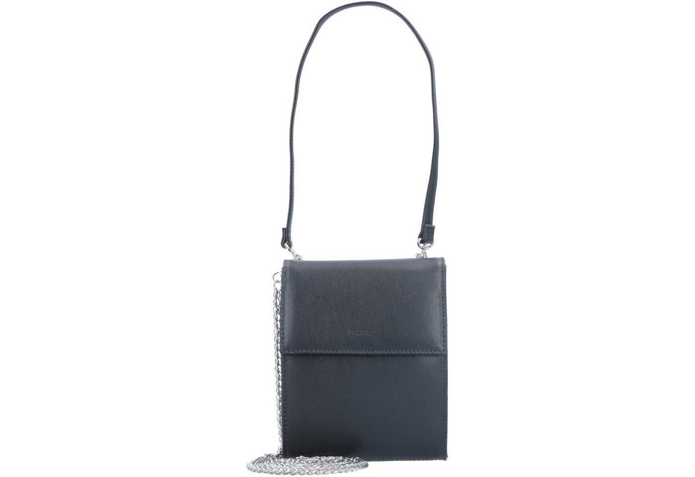 Damen Picard Auguri Mini Bag Schultertasche Leder 13 cm schwarz | 04056278053954