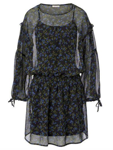 Copo de nieve Kleid mit farbenfrohem Print