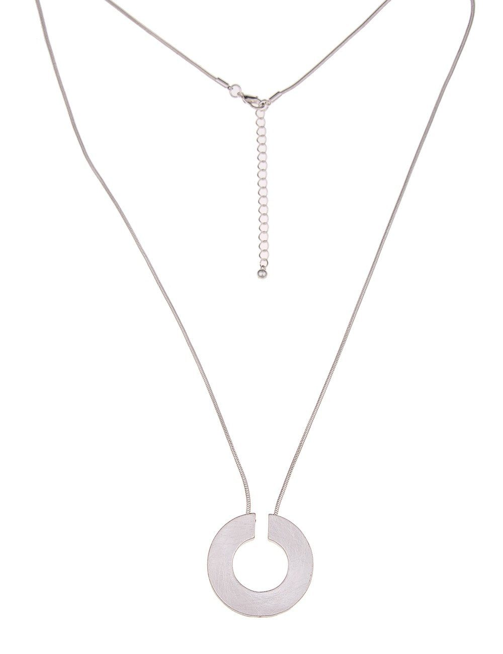 Leslii Schlangen-Halskette im Ring-Look