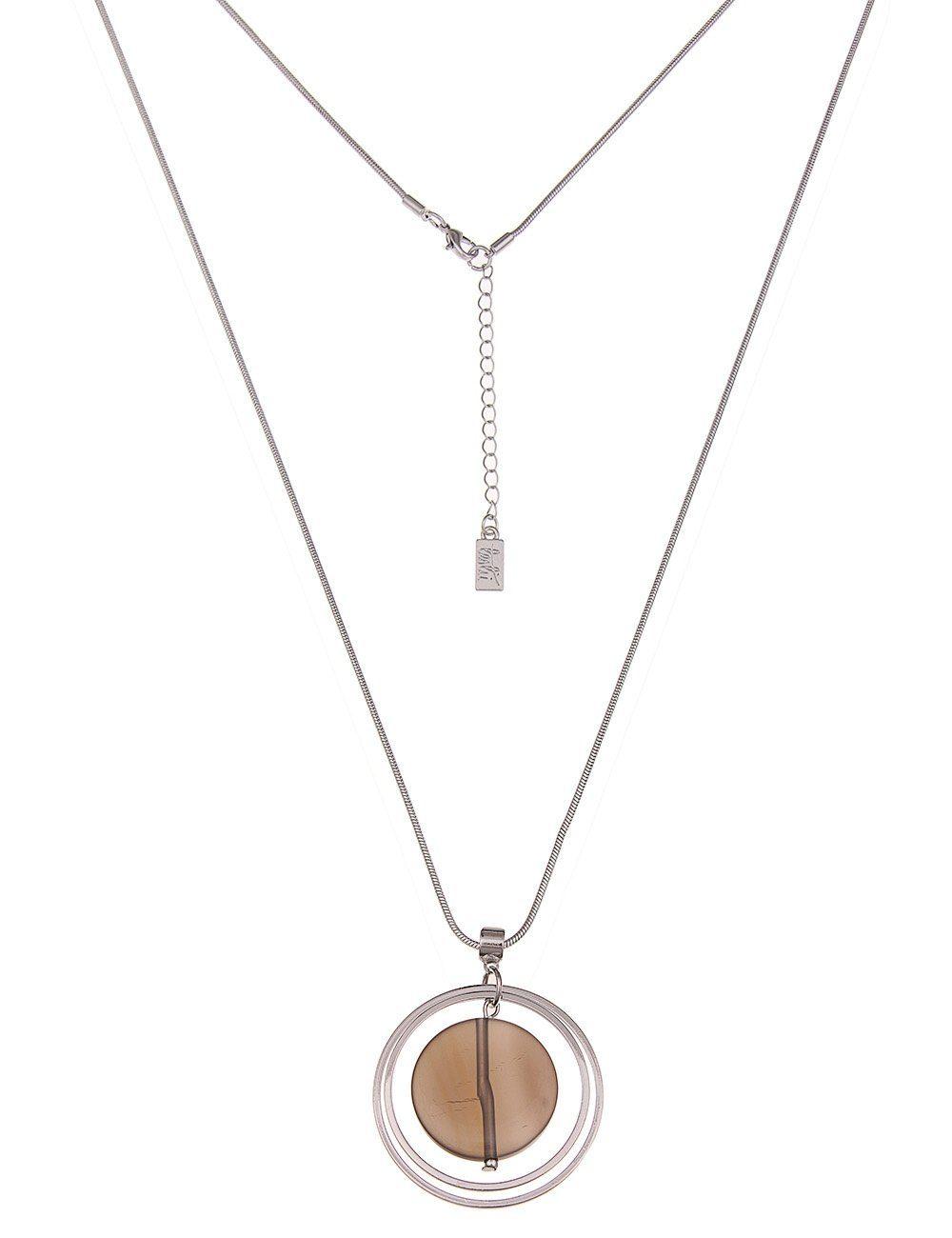Leslii Halskette mit Steinanhänger