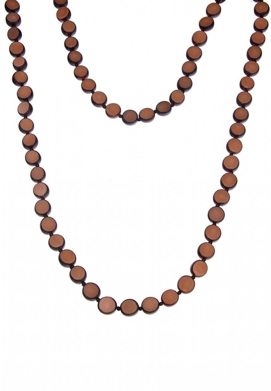 Leslii Halskette aus Palmsamen