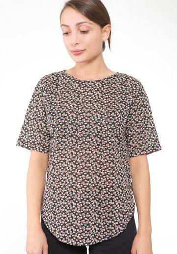 Ezekiel Rundhals-Shirt mit femininem Print