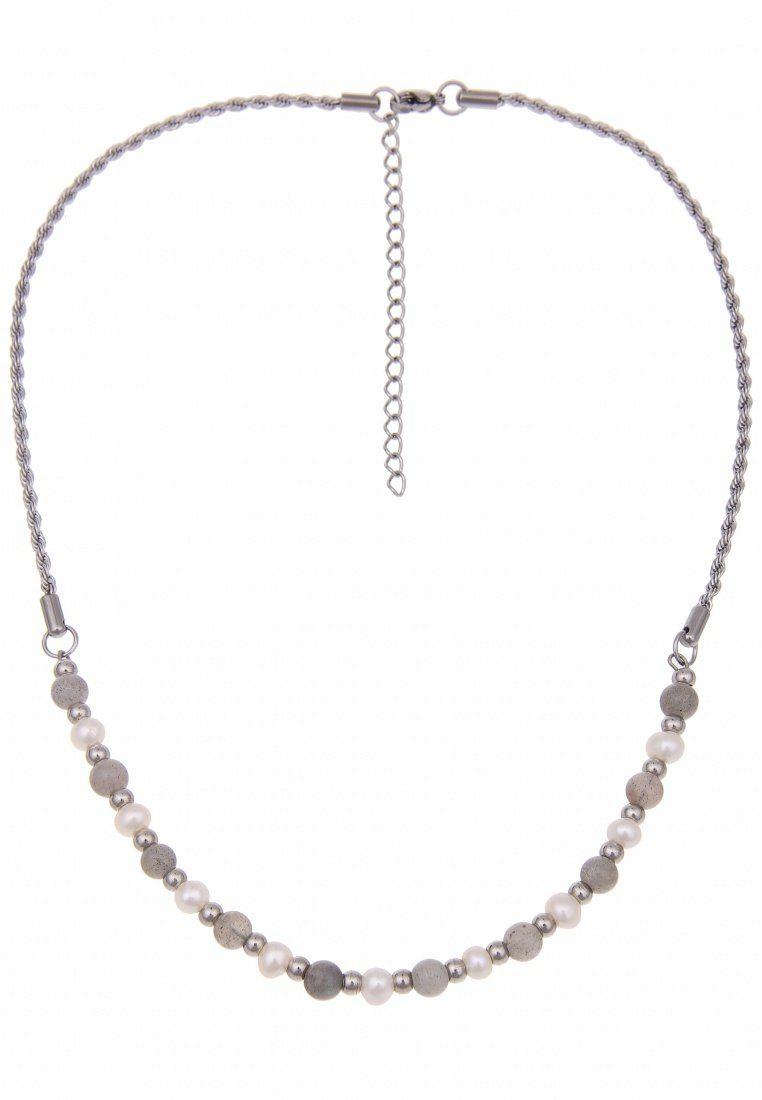 Leslii Halskette mit filigranen Steinkugeln