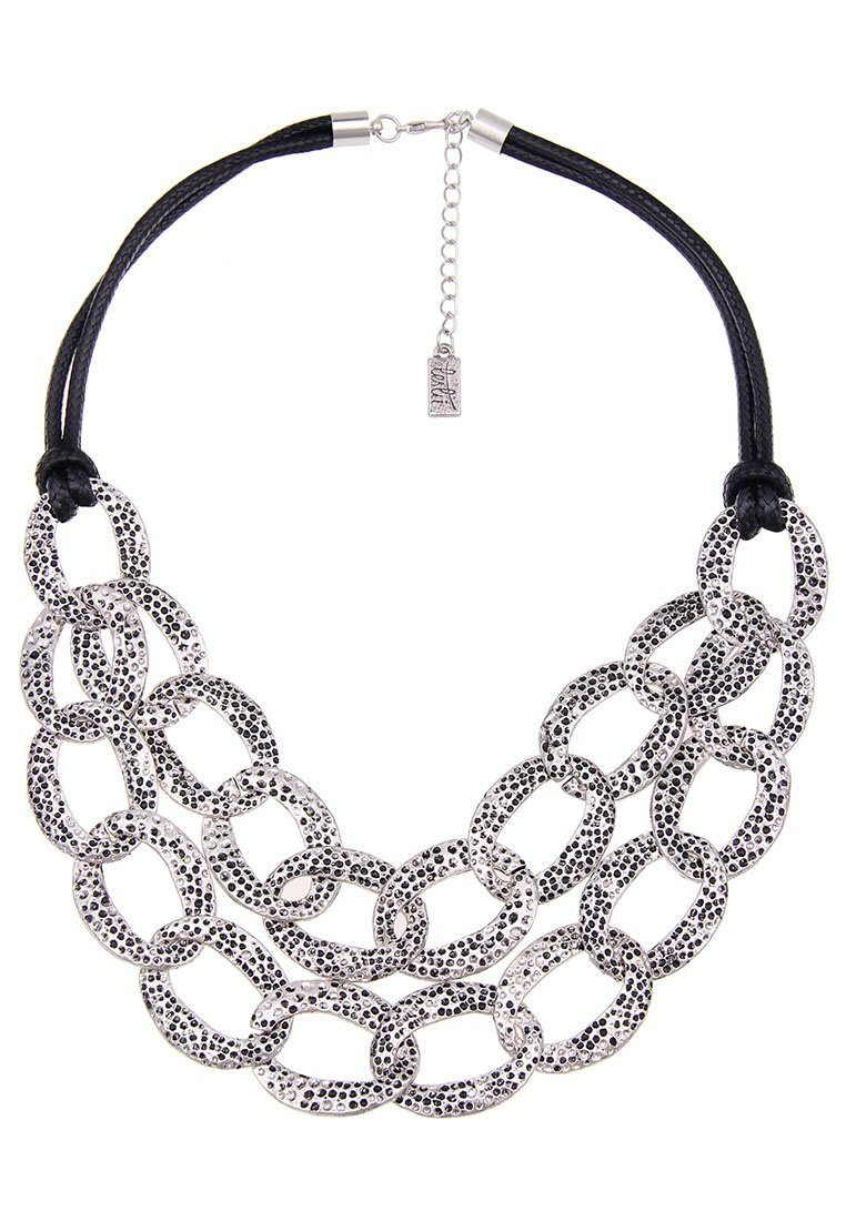 Leslii Halskette mit großem Glieder-Anhänger