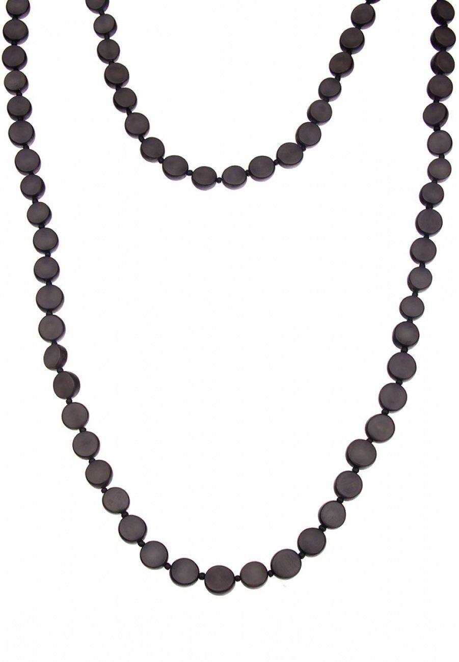 Leslii Halskette aus Palmsamen-Scheiben