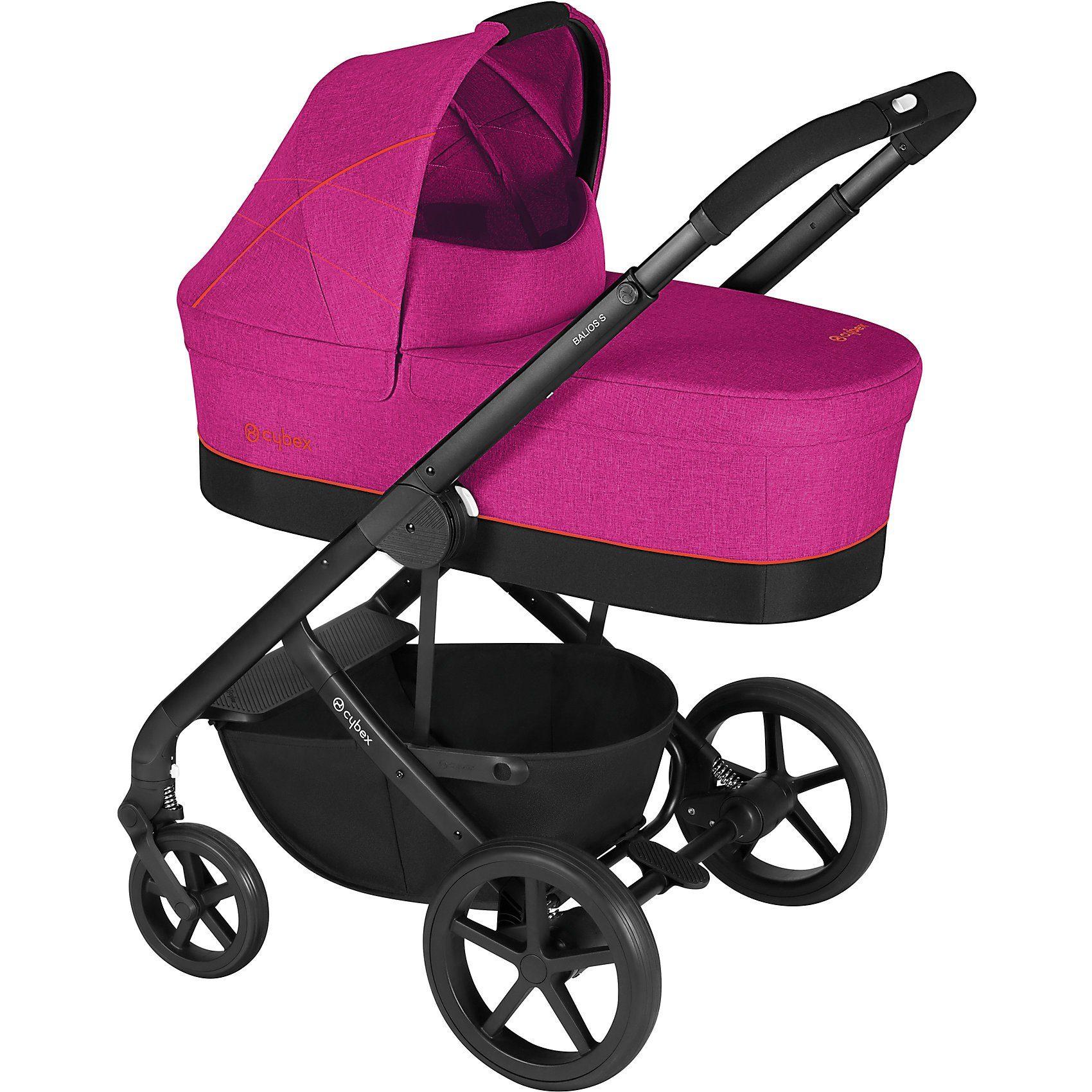 Cybex Kombi Kinderwagen Balios S, Gold-Line, Passion Pink-Purple