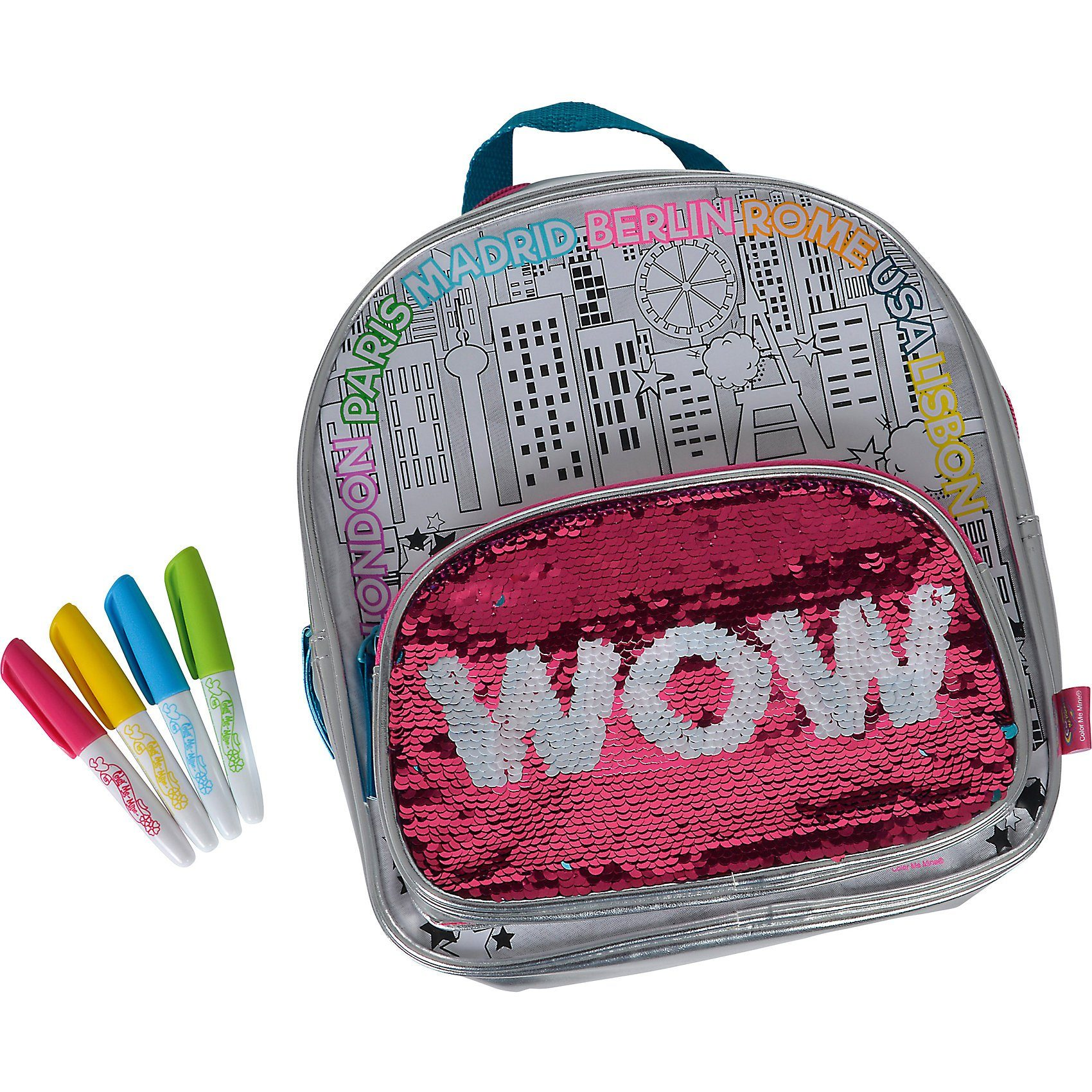 SIMBA Color Me Mine - Swap Back Pack (mit Wendepailletten)
