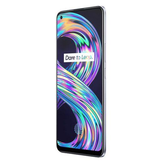 Realme 8 Smartphone (16,3 cm/6,4 Zoll, 64 GB Speicherplatz, 64 MP Kamera)